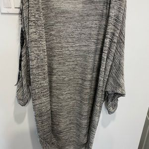 Size 6 cardigan by Miss Selfridge with lace accent